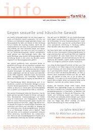 Gegen sexuelle und häusliche Gewalt - pro familia Schleswig-Holstein