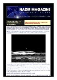 Adams, la luna e il linguaggio della fotografia - Michele Vacchiano