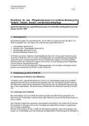 u. Bereitschaftspflege-Richtlinie Landkreises Bamberg