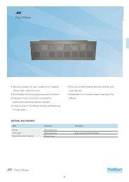 Product data sheet - Halton