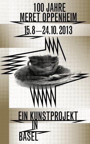 100 Jahre Meret Oppenheim – Ausstellungsheft