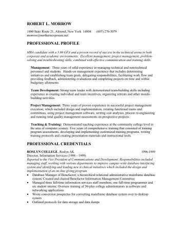 Amazing Harvard Mba Resume Book Pdf Gallery - Simple resume Office .