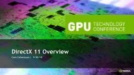 DirectX 11 Overview - Nvidia