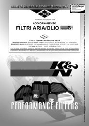 Filtri Aria - Olio K&N - Central Ricambi