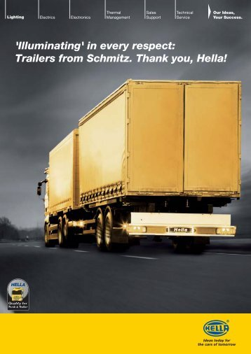 'Illuminating' in every respect: Trailers from Schmitz ... - hella.shop.hu
