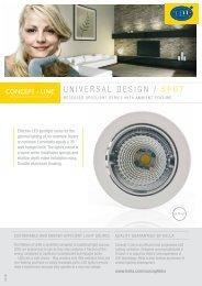 UNIVERSAL DESIGN / SPOT - hella.shop.hu