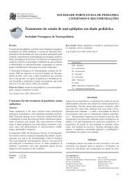 Descarregar protocolo - Sociedade Portuguesa de Neuropediatria