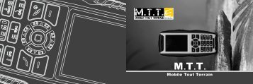 User Manual MTT Extrêm Digital GSM/GPRS Mobile Phone