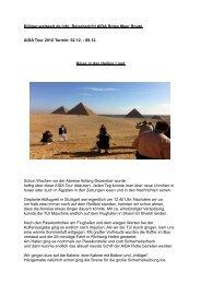 Reisebericht AIDA