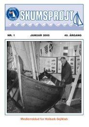 Blad - JANUAR 2005 - Holbæk Sejlklub