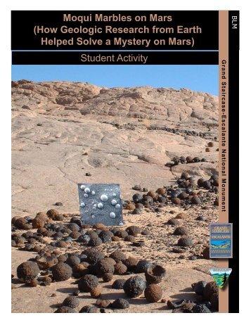 Moqui Marbles on Mars - Gsenmschool.org