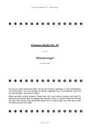 ® ® ® ® ® ® ® ® ® ® ® ® ® ® Clarissa Hyde Nr. 33 ...