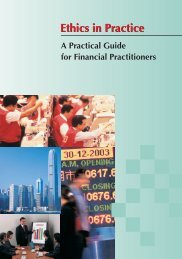 Ethics in Practice - A Practical Guide for Financial Practitioners
