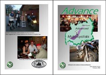 Advance - Severn Advanced Motorcyclists