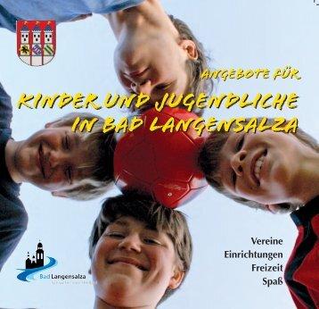 Kinder und Jugendliche in Bad Langensalza Kinder und ...
