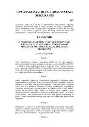 Pravilnik o postupku, uvjetima i načinu utvrđivanja prava na ...