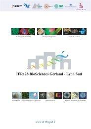 IFR128 BioSciences Gerland - Lyon Sud