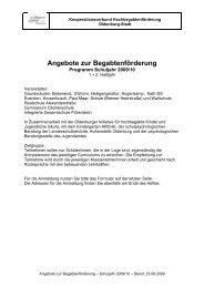 Angebote zur Begabtenförderung - IGS Flötenteich
