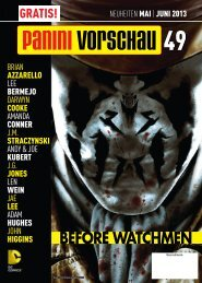 BEFORE WATCHMEN - Panini Comics