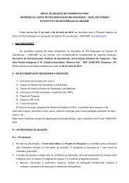 Edital_Selecao_2_semestre de 2013 – Geografia ... - IGEO- Unicamp