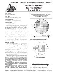 F-1102 Aeration Systems for Flat-Bottom Round Bins - OSU Fact ...