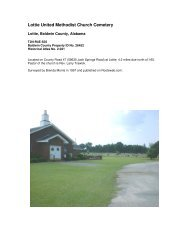 Lottie United Methodist Church Cemetery - RootsWeb