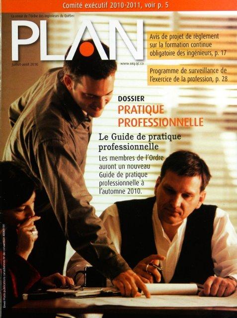 PLAN 2010-5 - Ordre des ingénieurs du Québec