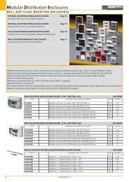 Modular Distribution Enclosures