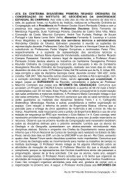 161ª Reunião Ordinária, realizada em 28/02/2007
