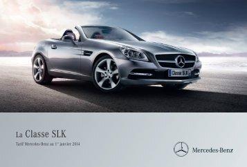 Tarif - Mercedes-Benz France
