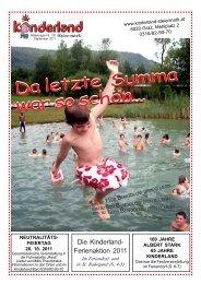ALLERHAND - Kinderland Steiermark