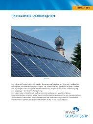 Photovoltaik Dachintegriert - BAU-KO Solar