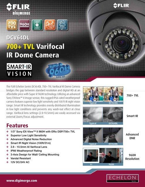 DCV64DL Spec Sheet - Digimerge