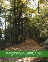 The Environmental Protection Fund: Preserving - iMapInvasives