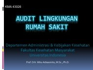Audit Lingkungan 1 - Blog Staff UI - Universitas Indonesia