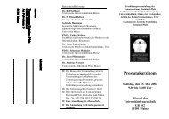 2004 - Institut für Medizinische Biometrie, Epidemiologie und ...