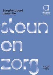 Zorgstandaard Dementie - Alzheimer Nederland