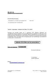 Tarieven van Implantaten – Vanaf 01/11/2012 - Inami
