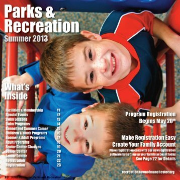 2013 Summer Brochure, PDF Version - Recreation Home