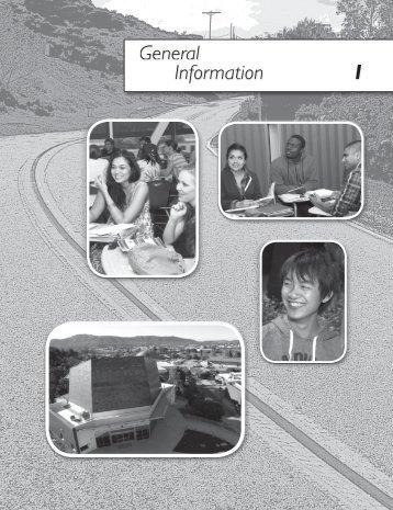 General Information - Palomar College