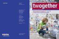 1 2 2 Voith Paper Edición especial de twogether 27 I C-bar™ Q La ...