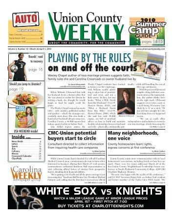 Union County - Carolina Weekly