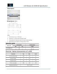 Led Module Je 004w Mn 04 Specification