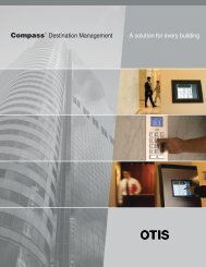 Compass Brochure 12-10_Final - Otis Elevator Company