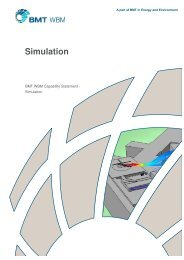 Capability Statement - Simulation - BMT Group