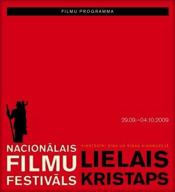 F I L M U P R O G R A M M A - Nacionālais Kino centrs