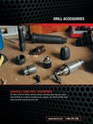Ingersoll Rand Drill Accessories - Store Louzampini