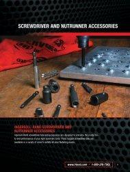 screwdriver and nutrunner accessories - Store Louzampini