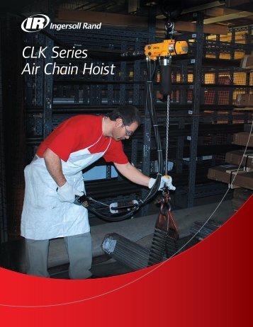 CLK Series Air Chain Hoist - Trifecta Industries