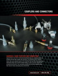 COUPLERS AND CONNECTORS - Ingersoll Rand